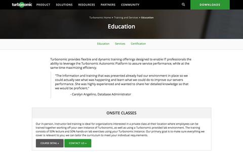 Turbonomic Education & Training Classes