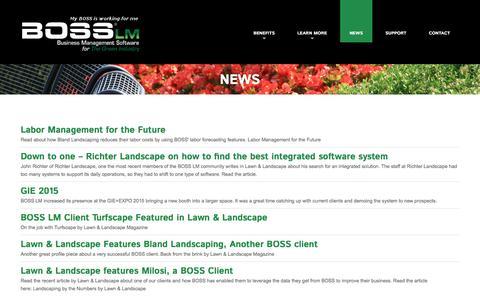 News  |  BOSS LM