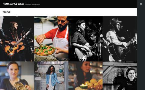 Screenshot of Team Page thefuj.com - people – matthew 'fuj' scher - captured Nov. 22, 2018