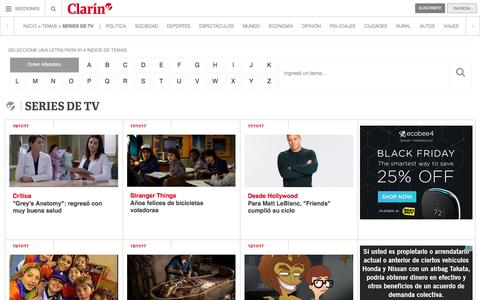 Series De Tv – Clarín.com