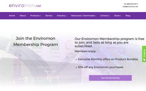 Enviromon Membership Program - Enviromon