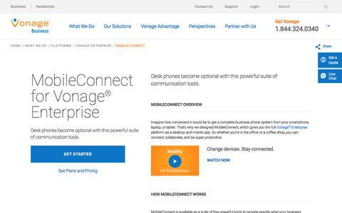 MobileConnect | Vonage Business