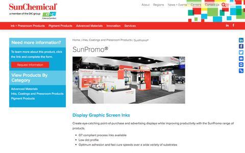 SunPromo® | Sun Chemical