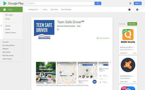 Teen Safe Driver℠ - Apps on Google Play
