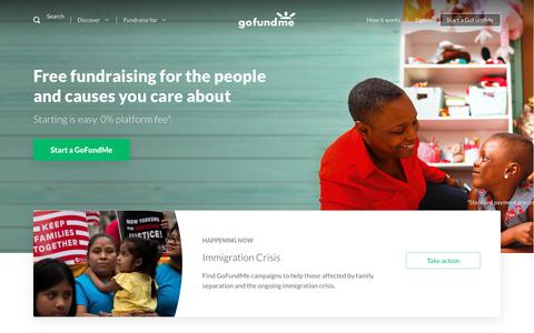GoFundMe: #1 In Free Fundraising & Crowdfunding Online