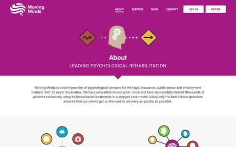 Screenshot of About Page moving-minds.org - Moving Minds - captured Nov. 30, 2016