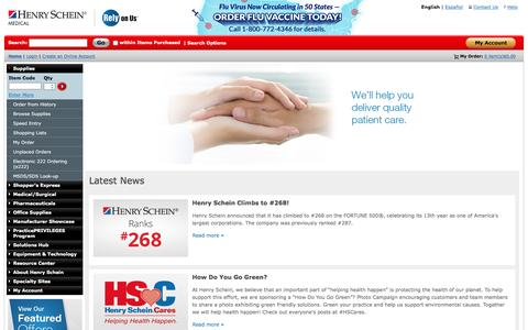 Affordable Medical Supplies & Medical Equipment – Henry Schein Medical