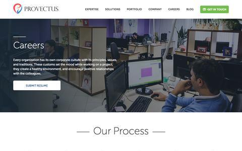 Careers - Provectus Provectus
