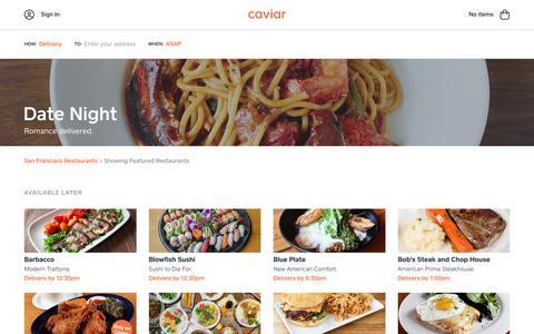 Date Night | Caviar
