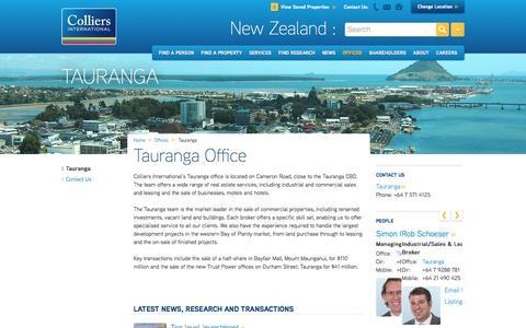 Tauranga Office | New Zealand | Colliers International