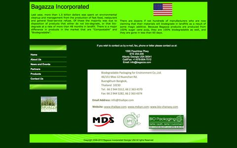 Screenshot of Contact Page bagazza.com - Bagazza Incorporated - captured Sept. 30, 2014