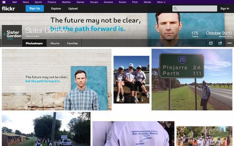 Screenshot of Flickr Page flickr.com - Flickr: SlaterGordon's Photostream - captured Oct. 27, 2014