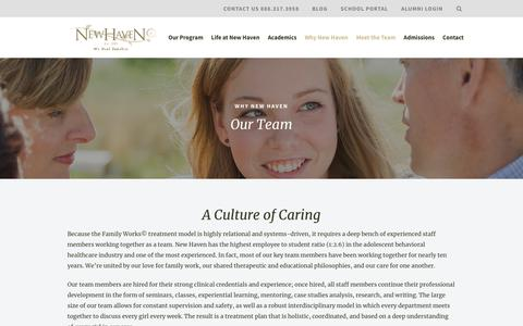 New Haven Residential Treatment Therapists & Staff
