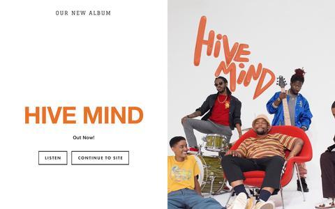 Screenshot of Home Page internet-band.com - INTERNET - captured Nov. 28, 2018