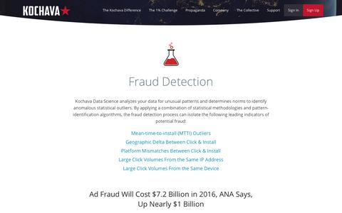 Fraud Detection - Kochava