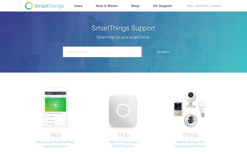 SmartThings Support
