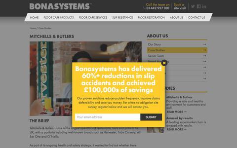 Screenshot of Case Studies Page bonasystems.com - Case Studies Archive - Bonasystems - captured Aug. 3, 2018