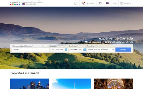 Canada Hotels - Online hotel reservations for Hotels in Canada