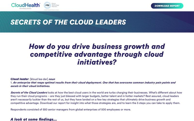 Secrets of the Cloud Leaders