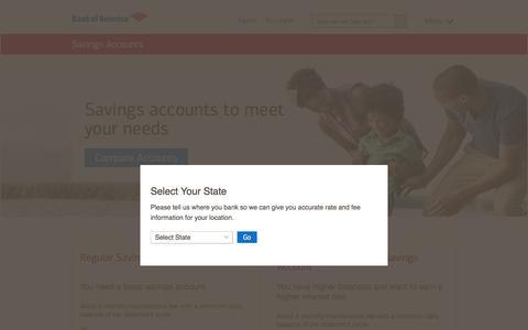 Savings Accounts - Open a Savings Account Online