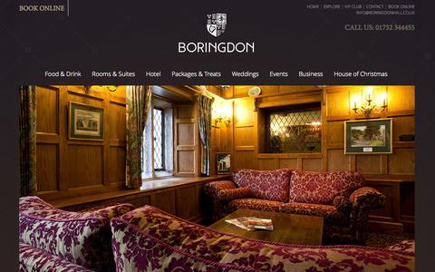 Screenshot of Press Page boringdonhall.co.uk - Press | Boringdon - captured Oct. 5, 2014