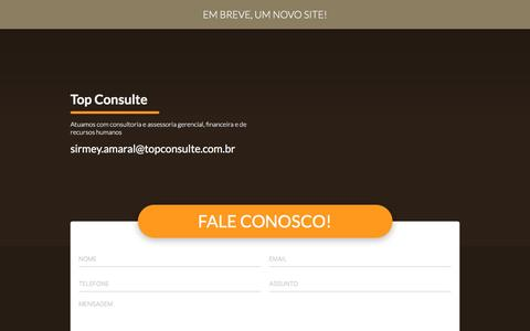 Screenshot of Home Page topconsulte.com.br - Top Consulte - captured Feb. 23, 2016