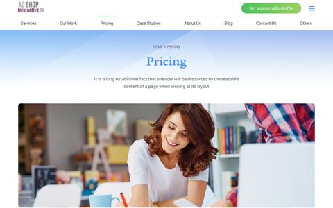 Screenshot of Pricing Page adshop.ro - Pricing – AdShop - captured July 29, 2018