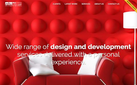 Screenshot of About Page niledesign.com - About us - Web Design Company based in New York - Website Development and Marketing Firm - NileDesign - captured Nov. 1, 2017