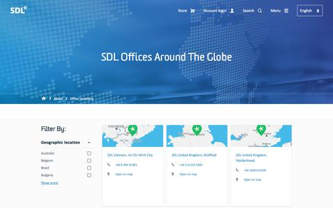 SDL Offices | SDL