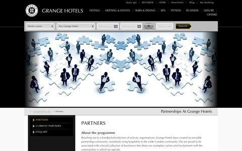 Grange Hotels | Hotel Partnership London