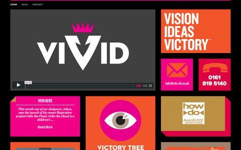 Screenshot of Home Page viv-id.co.uk - Home | Viv-id - captured Oct. 9, 2014