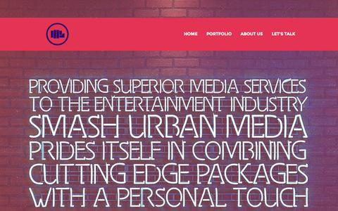 Screenshot of About Page smashurbanmedia.com - Smash Urban Media - About US | Smash Urban Media - captured Oct. 7, 2014