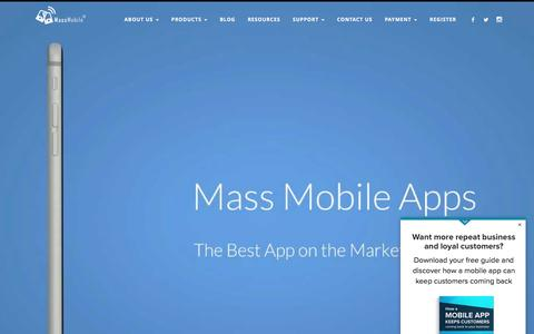 Mass Mobile Apps