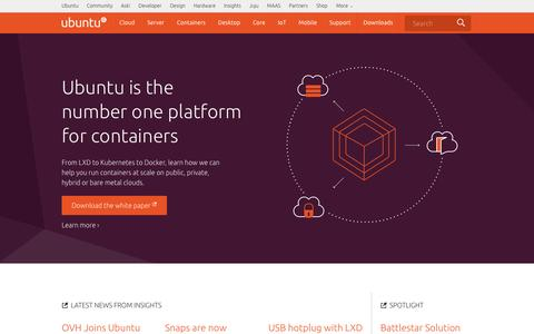 The leading operating system for PCs, tablets, phones, IoT devices, servers and the cloud | Ubuntu
