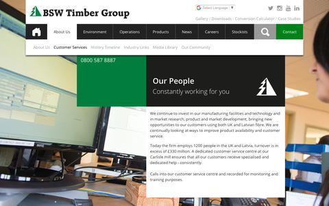 Screenshot of Team Page bsw.co.uk - people • BSW Timber - captured Sept. 30, 2018