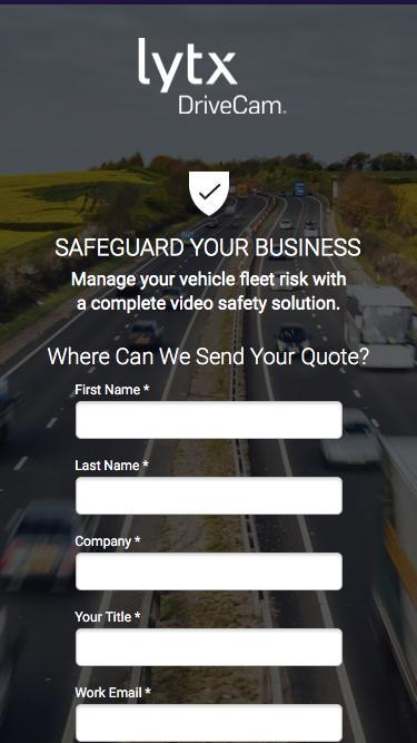 Safeguard Your Business | Lytx DriveCam™