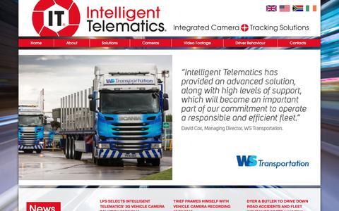 Screenshot of Home Page intelligent-telematics.ie - Intelligent Telematics - captured Nov. 19, 2016