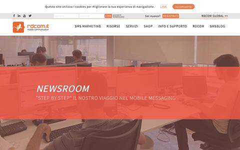 Screenshot of Press Page rdcom.it - Newsroom, le notizie del mondo rdcom.it - Rdcom.it - captured Oct. 18, 2018