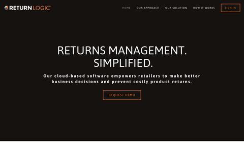 The smartest and simplest returns prevention software | Return Logic