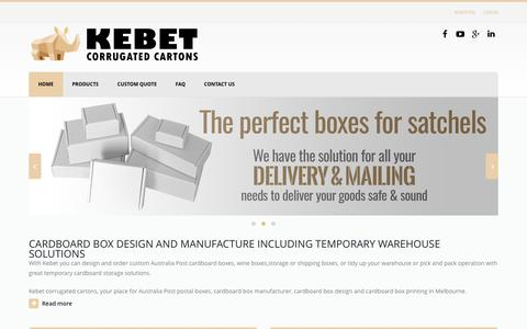 Cardboard Boxes, Packaging & Storage Cartons Melbourne