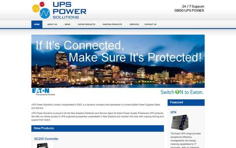 Home - UPS Power Solutions Ltd - Eaton | Raritan | CSB Batteries