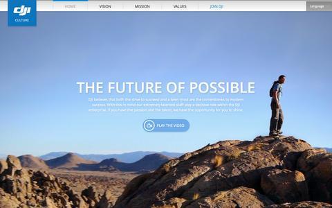 Screenshot of Jobs Page dji.com - DJI | Culture - captured Sept. 18, 2014