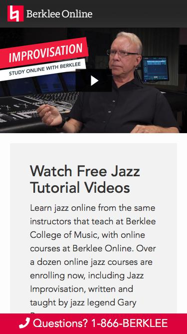 Watch Gary Burton Jazz Videos from Berklee Online