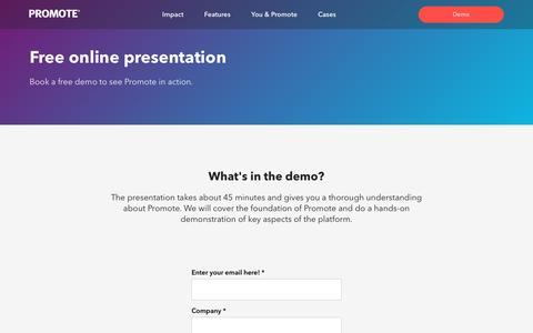 Demo - Promote International
