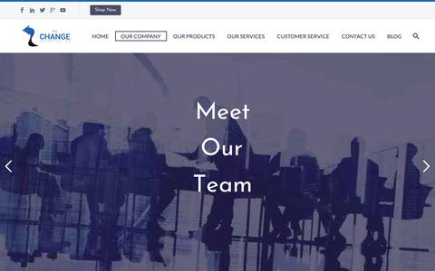 Screenshot of Team Page thechange.co.uk - Our Team - The Change Organisation - captured Oct. 20, 2018