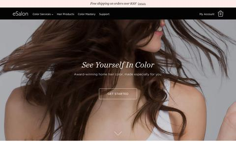 Custom Home Hair Color, Delivered to You | eSalon