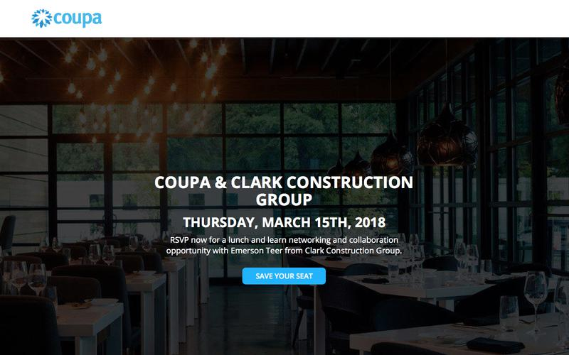 Coupa Lunch & Learn Maryland | Reserve Your Seat