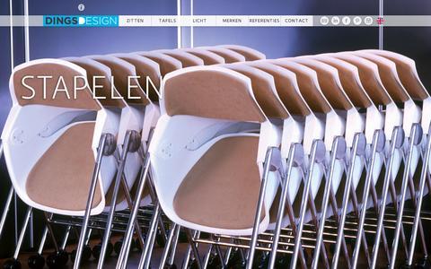 Screenshot of Home Page dingsdesign.com - Dings Design - captured March 9, 2016