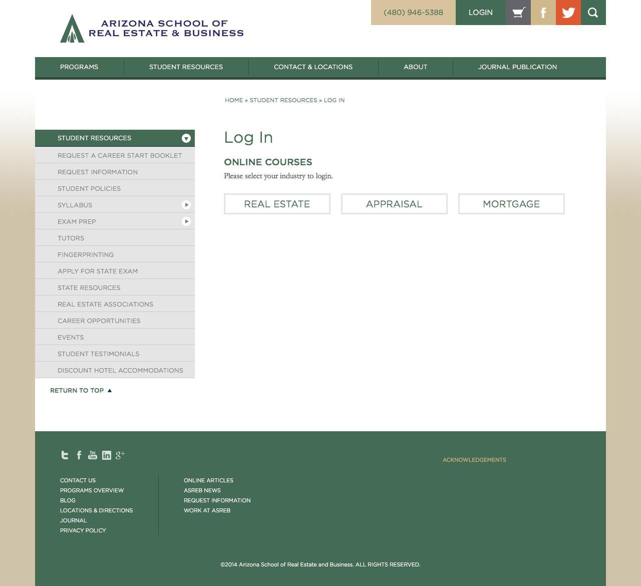 Web Design Example A Page On Asrebcom Crayon