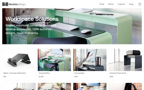 Modern & Minimal Workspace & Office Products | Heckler Design